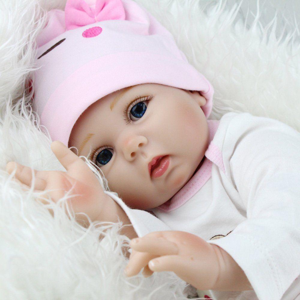 "22"" REBORN BABY DOLLS REAL LIFE LIKE LOOKING NEWBORN BABY ..."